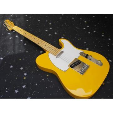 Custom Fender TV Gloss Yellow Telecaster Guitar