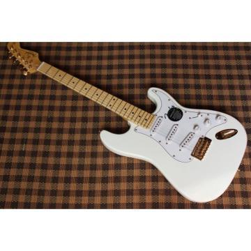 Custom Eric Johnson White Fender Stratocaster Guitar