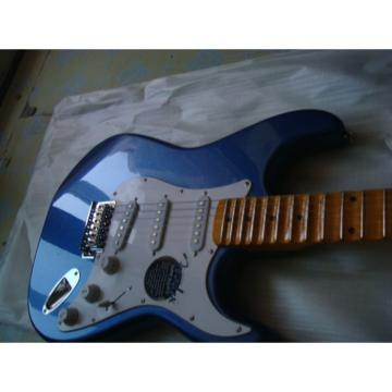 Custom Blue Fender Stratocaster Guitar