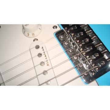 Custom American Fender Sky Blue Guitar
