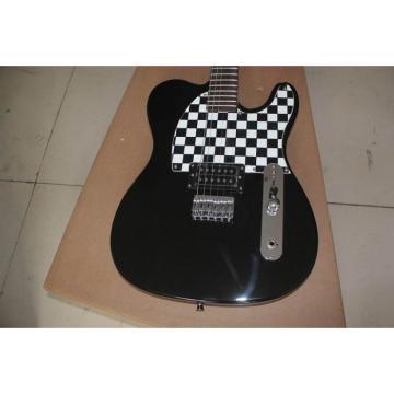 Custom Fender Black Checker Board Telecaster Avril Lavigne Guitar