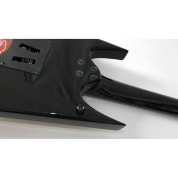 Custom Shop Special Shape Black Yellow Design BC Rich Guitar