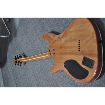 Custom Built Setius GTM 6 Gothic Figured Red and Black Ash Top Mayones Guitar Katatonia