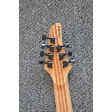 Custom Built Regius 7 String Denim Teal Maple Top Mayones Guitar
