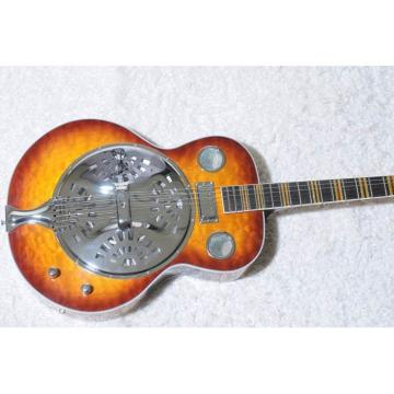 Custom Shop Hofner Sunburst Resonator Guitar