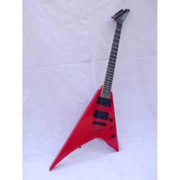 Custom Shop Jackson Red Electric Guitar