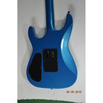 Custom Shop Jackson Soloist Blue 3 Pickups Electric Guitar