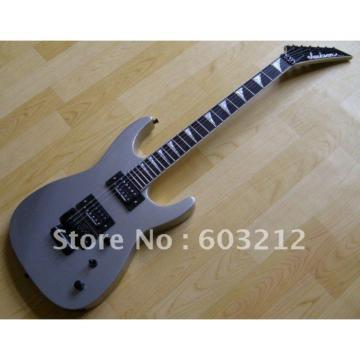 Custom Shop Jackson Soloist Silver Electric Guitar