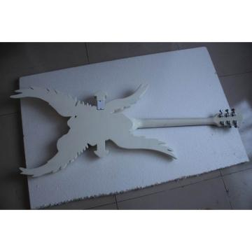 Custom Shop ESP White  Angle Cross Electric Guitar