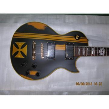 Custom Shop ESP Metallica James Hetfield Iron Cross Guitar