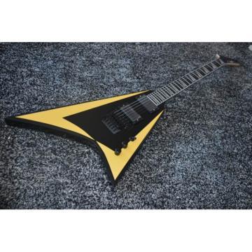 Custom Shop ESP Alexi Laiho Cream Black Electric Guitar Flying V