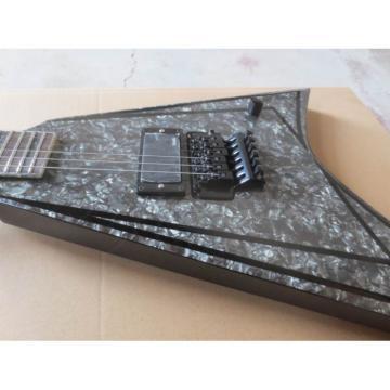 Custom Alexi Laiho Black Diamond Pearl V Guitar