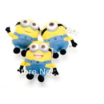 """1 pc Despicable Me Minions 9"""" Stuffed Toy"""
