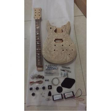 Custom Shop Unfinish PRS Guitar Kit Wilkinson Parts