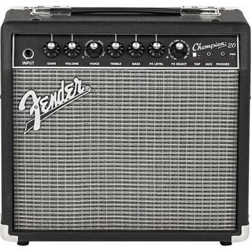 Fender Champion 20 Guitar Combo Amp Black