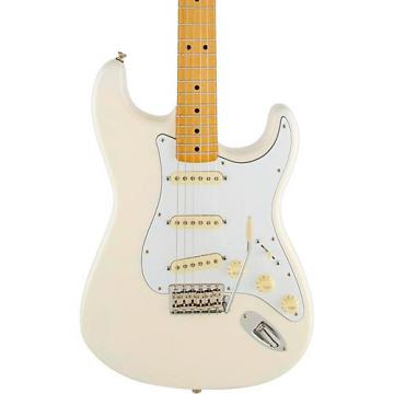 Fender Jimi Hendrix Stratocaster Olympic White Maple Fingerboard