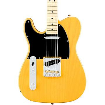 Fender American Professional Telecaster Left-Handed Maple Fingerboard Electric Guitar Butterscotch Blonde