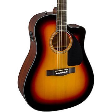 Fender Classic Design Series CD-60CE Cutaway Dreadnought Acoustic-Electric Guitar Sunburst