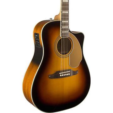 Fender California Series Kingman ASCE Cutaway Dreadnought Acoustic-Electric Guitar 3-Color Sunburst