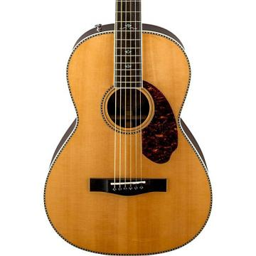 Fender Paramount Series PM-2 Deluxe Parlor Acoustic-Electric Guitar Natural