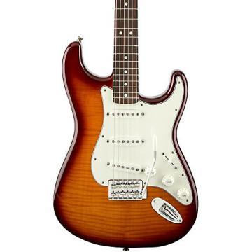 Fender Standard Stratocaster Plus Top, Rosewood Fingerboard Tobacco Sunburst Rosewood Fingerboard