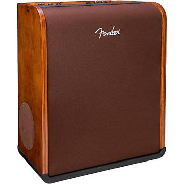 Fender Acoustic SFX 160W Acoustic Guitar Amplifier with Hand-Rubbed Walnut Finish Walnut