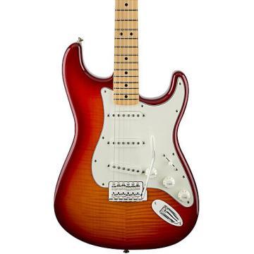 Fender Standard Stratocaster Plus Top, Maple Fingerboard Aged Cherry Sunburst Maple Fingerboard