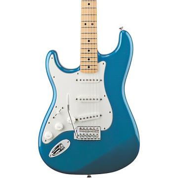 Fender Standard Stratocaster Left Handed  Electric Guitar Lake Placid Blue Gloss Maple Fretboard