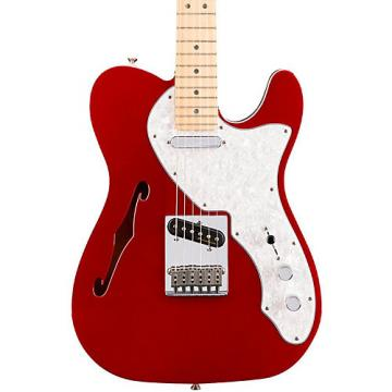 Fender Deluxe Thinline Telecaster Maple Fingerboard Candy Apple Red