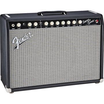 Fender Super-Sonic 22 22W 1x12 Tube Guitar Combo Amp Black