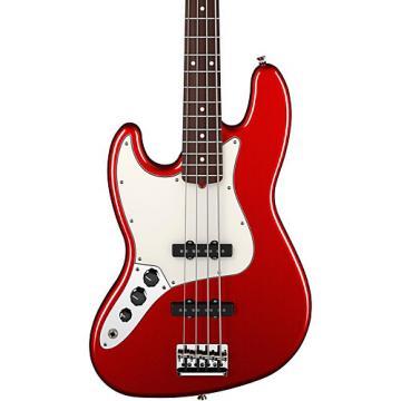 Fender American Standard Jazz Bass Left-Handed Mystic Red Rosewood Fingerboard