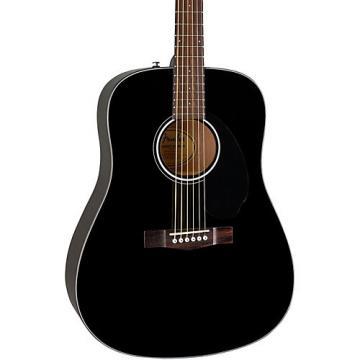 Fender Classic Design Series CD-60S Dreadnought Acoustic Guitar Black