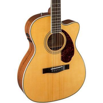 Fender Paramount Series PM-3 Cutaway Triple-0 Acoustic-Electric Guitar Natural