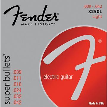 Fender 3250L Nickel-Plated Steel Bullet-End Electric Guitar Strings - Light