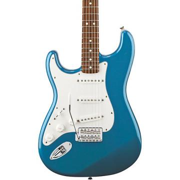 Fender Standard Stratocaster Left Handed  Electric Guitar Lake Placid Blue Rosewood Fretboard