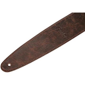 Fender Artisan Leather Guitar Strap Brown 2.5 in.