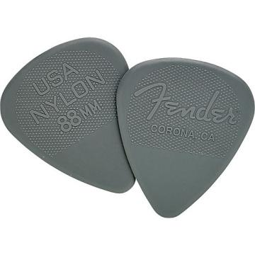 Fender Nylon Guitar Pick 12 Pack 0.88 12 Pack