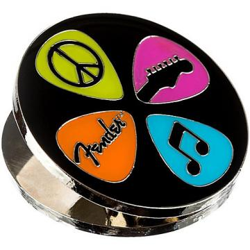 Fender Love Peace and Music Magnet Clip