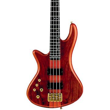 Schecter Guitar Research Stiletto Studio-4 Left-Handed Bass Satin Honey