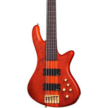 Schecter Guitar Research Stiletto Studio-5 Fretless Bass Satin Honey