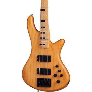 Schecter Guitar Research Stiletto-4 Session Electric Bass Guitar Satin Aged Natural