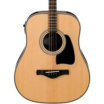 Ibanez Artwood Vintage AVT2E-NT Mini Dreadnought Acoustic-Electric Guitar Natural