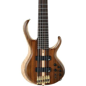 Ibanez BTB1806E 6-String Electric Bass Guitar Low Gloss Natural