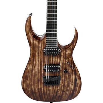 Ibanez RGA Iron Label RGAIX6U 6-string Electric Guitar Antique Brown Stained