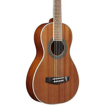Ibanez Performance PN1MHOPN Mahogany Parlor Acoustic Guitar High Gloss Natural
