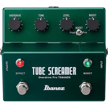 Ibanez Tube Screamer TS808DX Guitar Effects Pedal