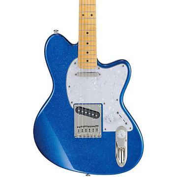 Ibanez Talman Series TM302PM Electric Guitar Blue Sparkle