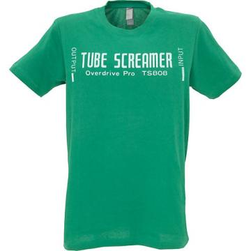Ibanez Tube Screamer T-Shirt Green Double XL
