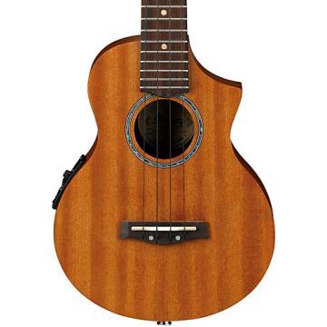 Ibanez UEW5E All Mahogany Concert Acoustic-Electric Ukulele Natural