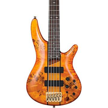 Ibanez SR805 5-String Electric Bass Amber